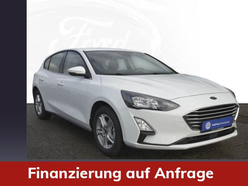 FORD  Focus 1.0 EcoBoost Start-Stopp-System COOL&CONNECT 92 kW, 5-türig, Frost-Weiß